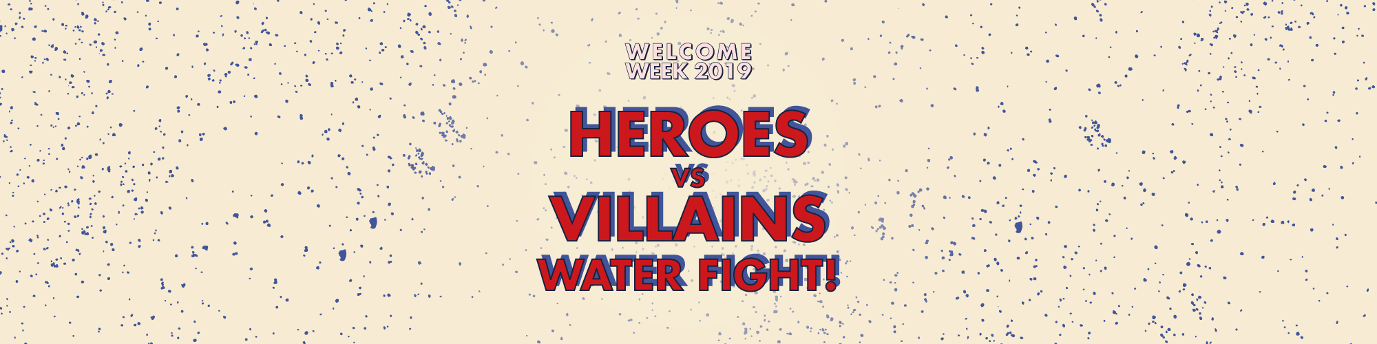 Heroes vs Villains Water Fight!