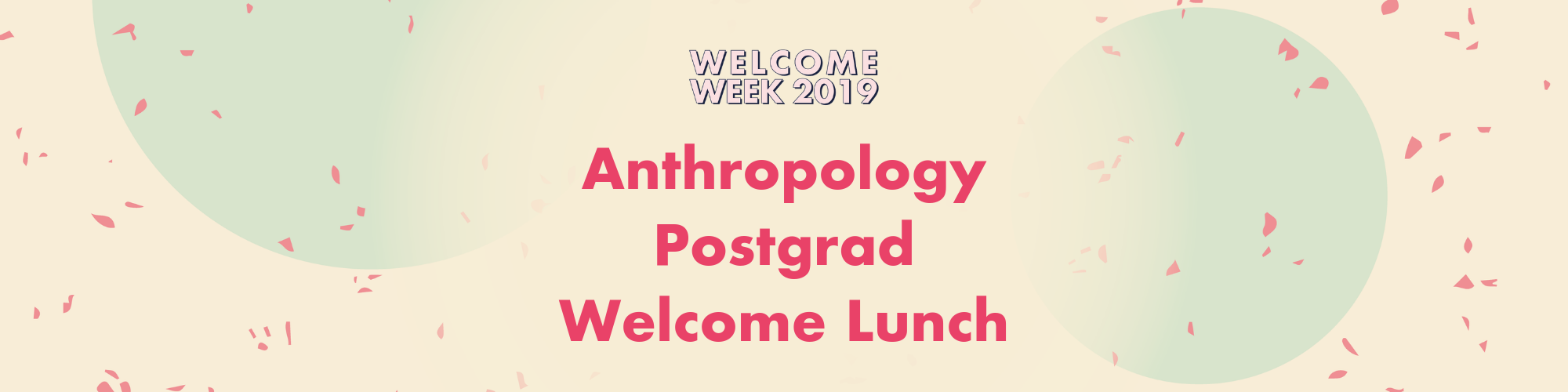 Anthropology Postgrad Welcome Lunch
