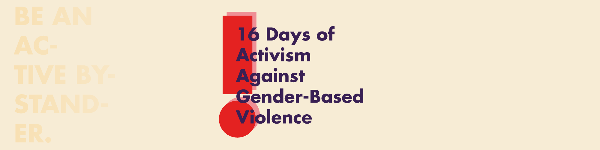 #16days of Activism against Gender-Based Violence Stall