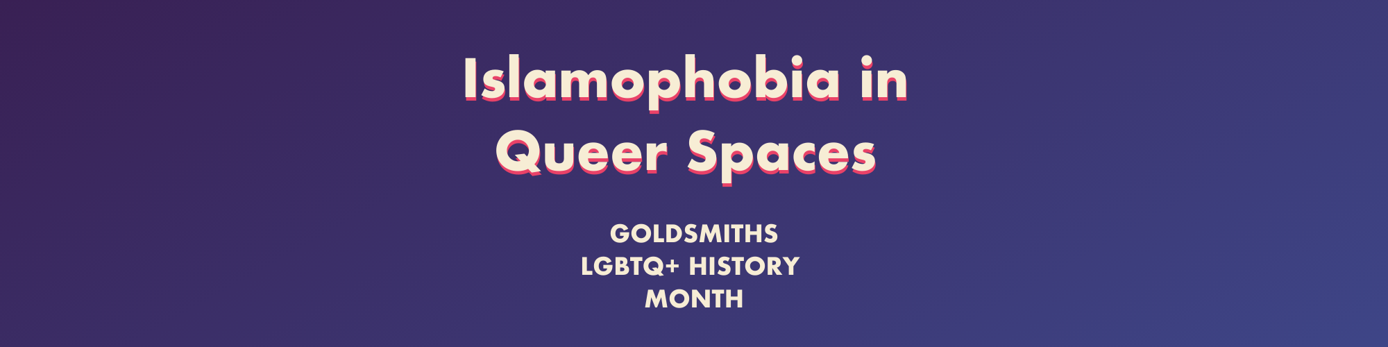 Islamophobia in Queer Spaces